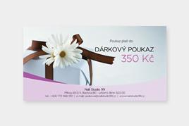 Dárkový poukaz - 350 Kč