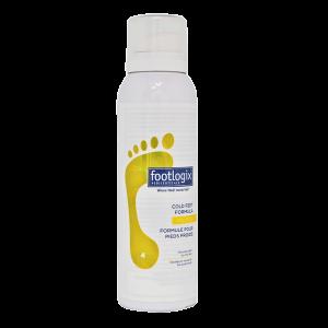 Footlogix Cold Feet Formula (4) - Pěna pro studené nohy, 125 ml