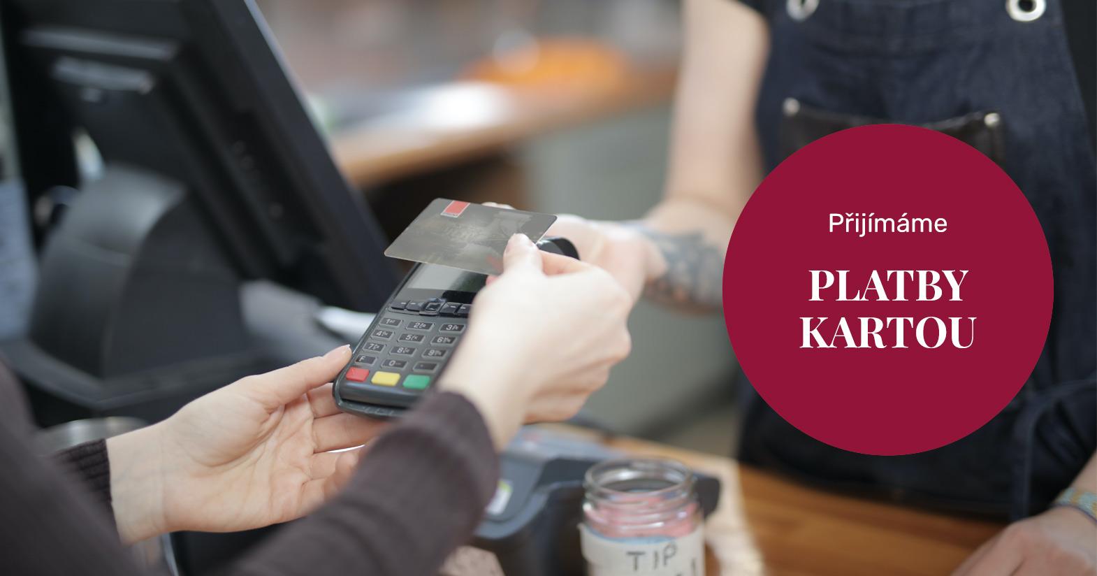 Od 05/2020 přijímáme platby kartou