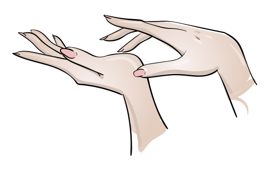 Manikúra - Ilustrace